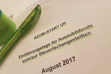 Azubi-Start Up Seminar in Hamburg