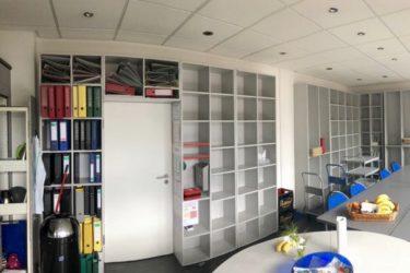 Was als Gemeinschaftsraum und Bibliothek begann …  die DP-Lounge