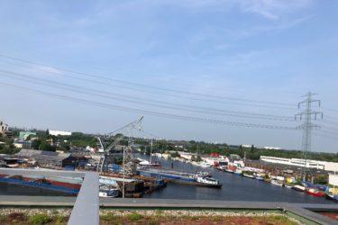Lebendiger Stadtteil mit eigenem Hafen